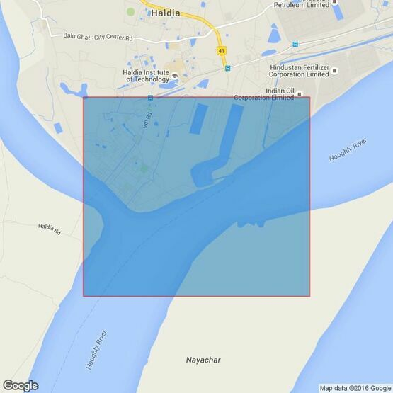 136 Hugli River - Sagar Roads to Kukrahatti Reach Admiralty Chart