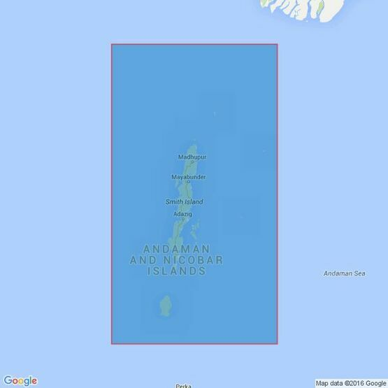 825 Andaman Islands Admiralty Chart
