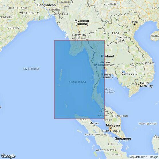 830 Andaman Sea Admiralty Chart