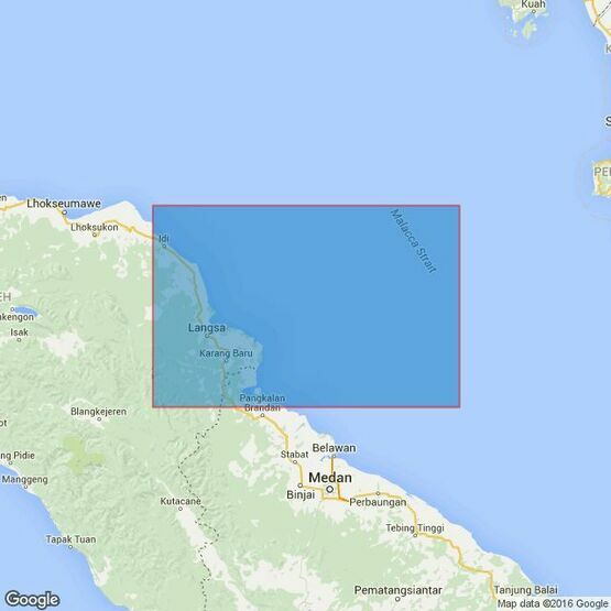 3920 Ujung Peureula to Teluk Aru Admiralty Chart