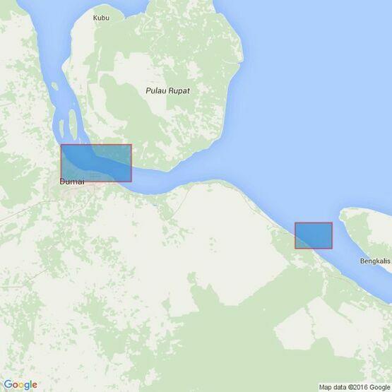 3933 Selat Bengkalis and Selat Rupat Admiralty Chart
