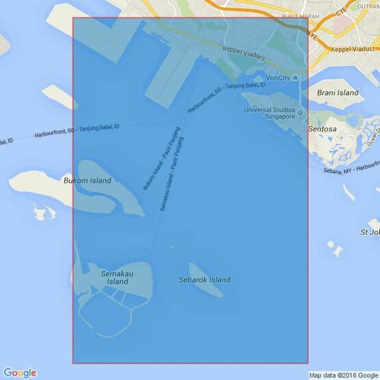 4035 Western Anchorage, Jong Fairway and Cruise Bay Admiralty Chart