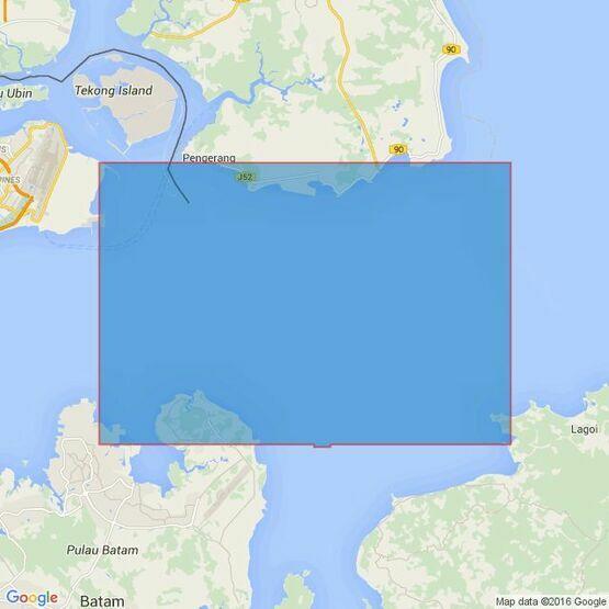4042 Changi to Pulau Mungging and Tanjung Buntan to Tanjung Tondang Admiralty Chart