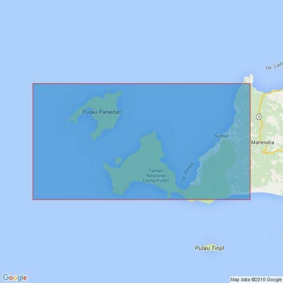 2056 Selat Sunda and Approaches including Selat Panaitan Admiralty Chart