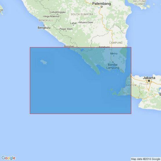 2785 Pulau Enggano to Selat Sunda Admiralty Chart
