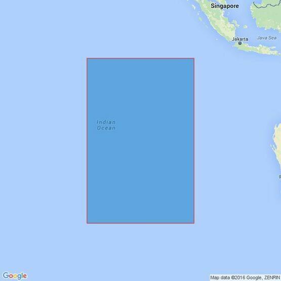 4714 Cocos (Keeling)  Islands to Ile Saint-Paul Admiralty Chart