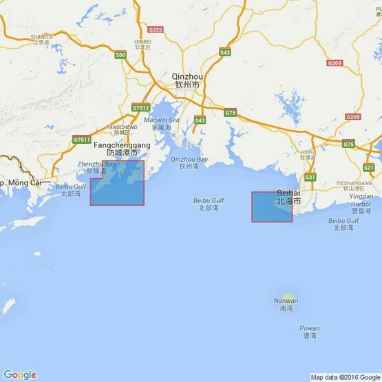 41 Ports in Southern China Admiralty Chart