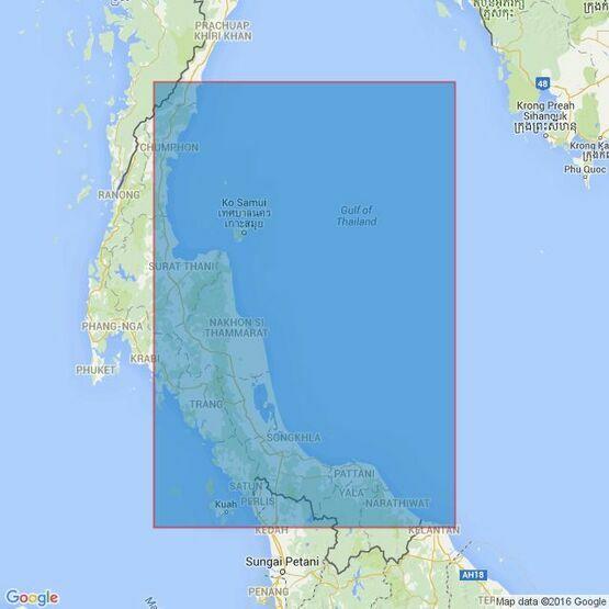 66 Tumpat to Laem Chong Phra Admiralty Chart