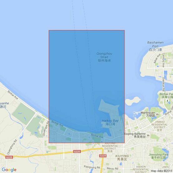 138 China - Hainan Dao, Xiuying Gangqu Admiralty Chart