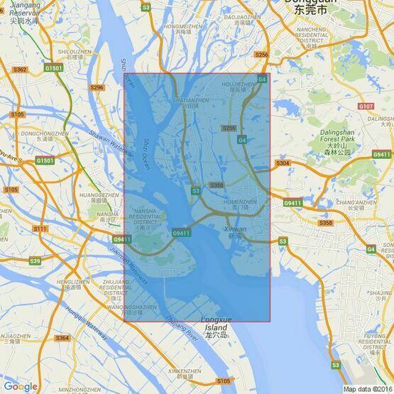 344 Shanban Zhou to Nizhou Tou Admiralty Chart