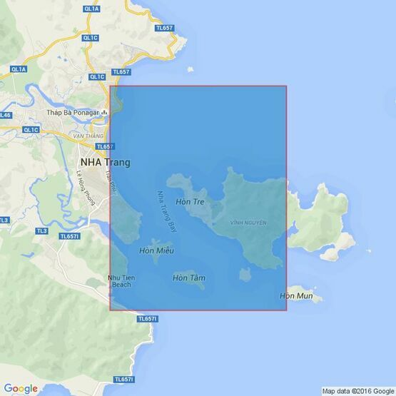 3883 Pointe Lagan to Cap Varella Admiralty Chart