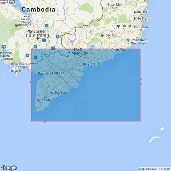 3986 Hon Khoai to Mui Ke Ga Admiralty Chart