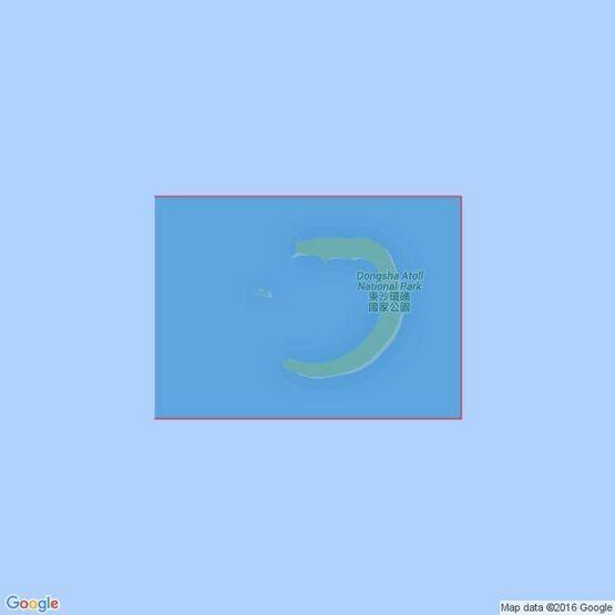 362 Pratas Island (Tung-Sha Tao) Admiralty Chart