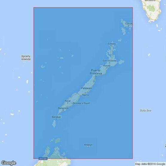 967 Palawan Admiralty Chart