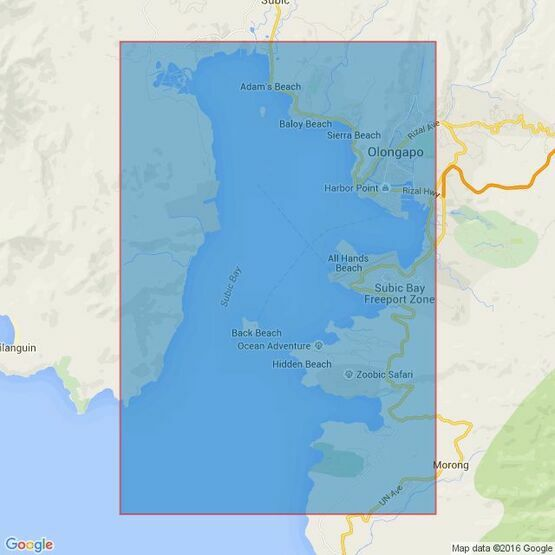983 Philippine Islands, Luzon- West Coast, Subic Bay Admiralty Chart