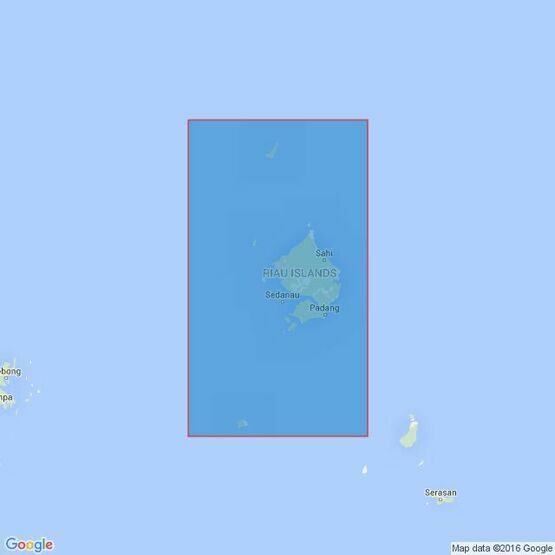 1348 Kepulauan Natuna (Natuna Besar) Admiralty Chart