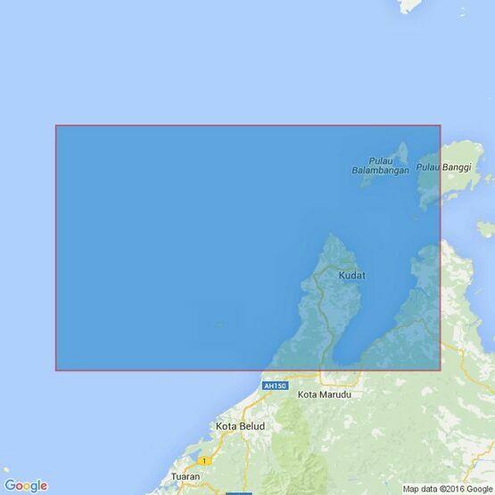 3728 Pulau-Pulau Mantanani to Pulau Banggi Admiralty Chart
