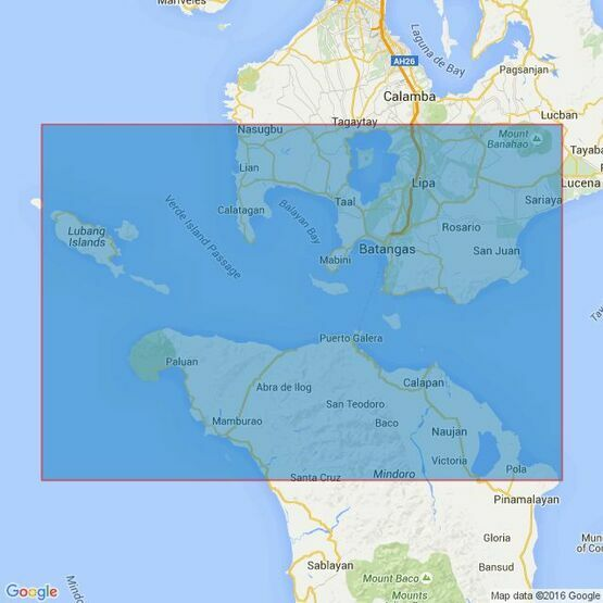 4490 Verde Island Passage Admiralty Chart