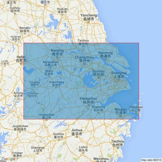 2946 Chang JiangSheet 1Shanghai to Datong Admiralty Chart