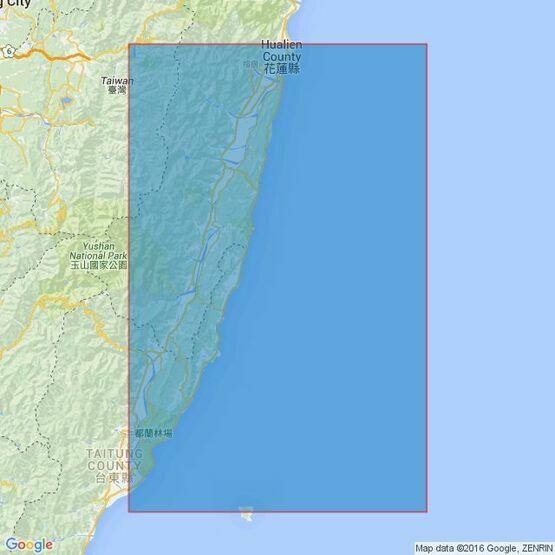 3234 T'ai-Tung Kang to Hua-Lien Kang Admiralty Chart