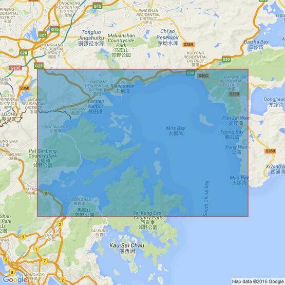 4128 Mirs Bay Admiralty Chart
