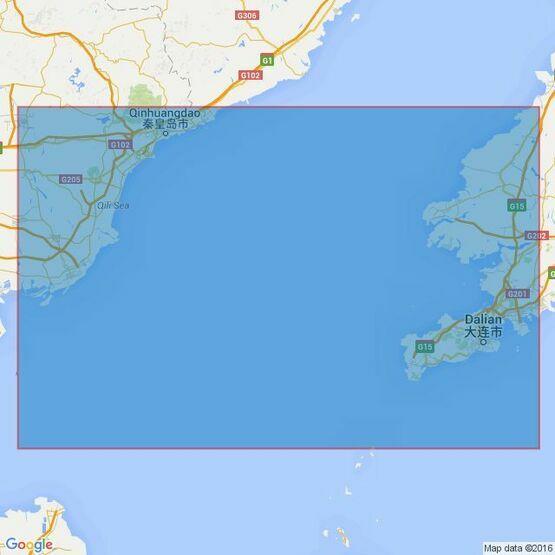 1249 Dalian Wan to Qinhuangdao Gang Admiralty Chart