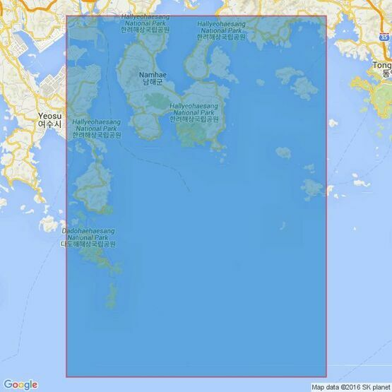 3391 Geumo Yeoldo to Yokjido Admiralty Chart