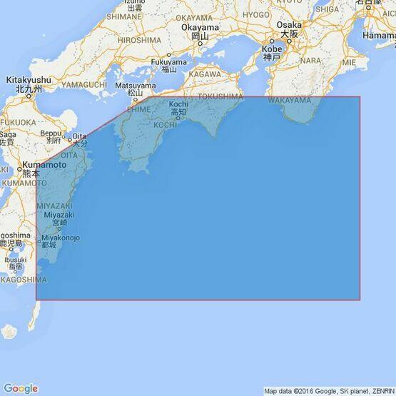 1648 Kishika Saki to Shiono Misaki Admiralty Chart