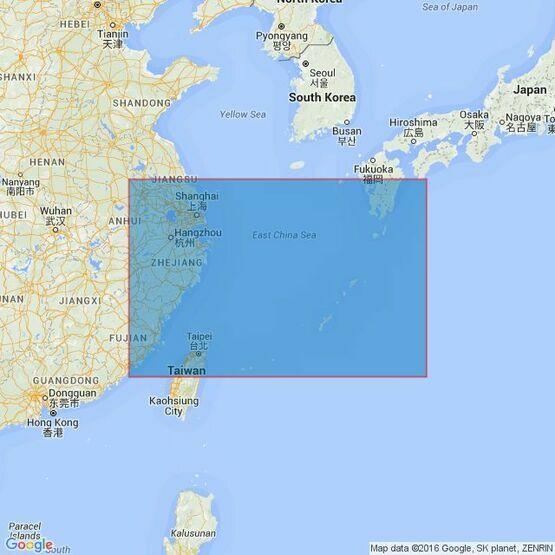 2412 East China Sea Admiralty Chart