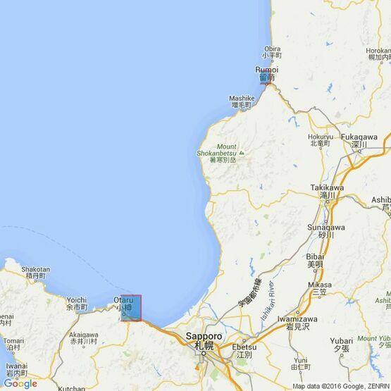 1807 Ports on the West Coast of Hokkaido Admiralty Chart