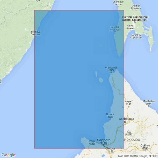 1801 Hokkaido - North West Coast and Gulf of Tartary Admiralty Chart