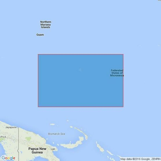 762 Caroline Islands (Eastern Part) Admiralty Chart