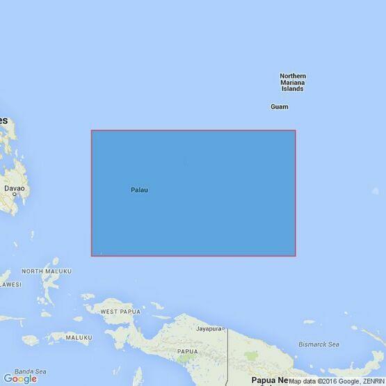 763 Caroline Islands (Western Part) Admiralty Chart