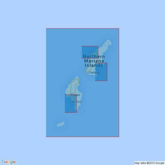 1101 Mariana Islands Admiralty Chart