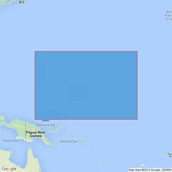 4506 Mariana Islands to the Gilbert Group (Kiribati) Admiralty Chart