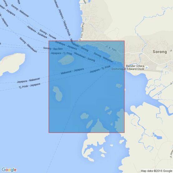 1420 Selat Sele Admiralty Chart