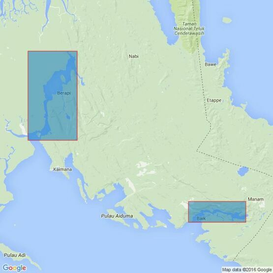 2102 Lakahia Bay to Cape Van Den Bosch Admiralty Chart
