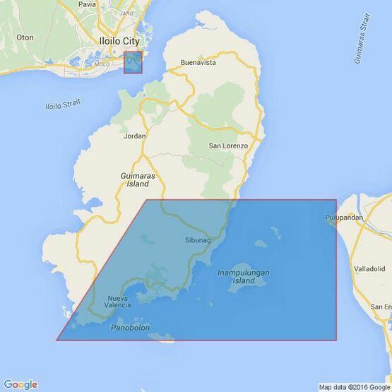 2391 Iloilo Strait Admiralty Chart