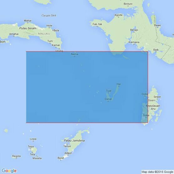 3243 Pulau-Pulau Banda to Pulau-Pulau Aru Admiralty Chart