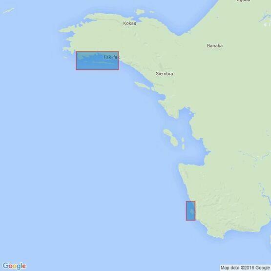 3742 Kaap Van Den Bosch to Patipi Baai Admiralty Chart