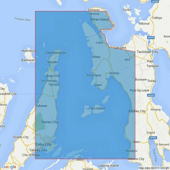 4477 Camotes Sea Admiralty Chart