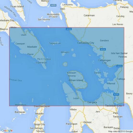 4478 Samar Sea and Eastern part of Visayan Sea Admiralty Chart