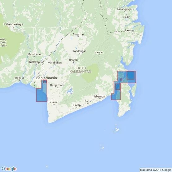 3015 Plans on the South Coast of Kalimantan Admiralty Chart