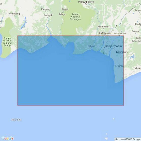3029 Tanjung Siamok to Tanjung Selatan Admiralty Chart