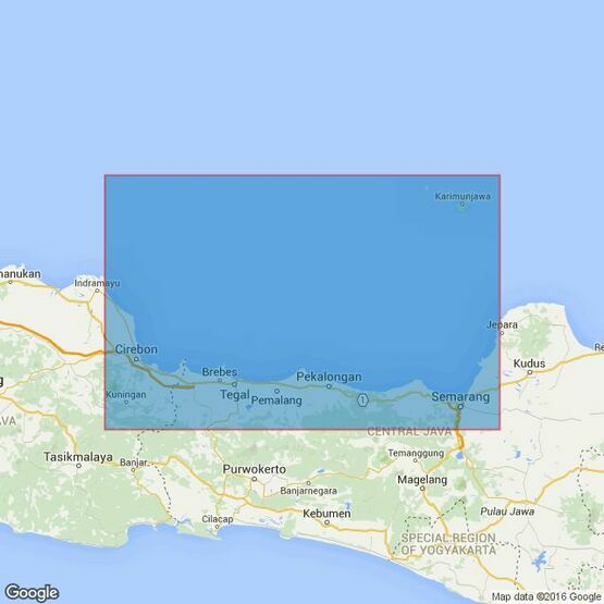 3730 Cirebon to Semarang Admiralty Chart