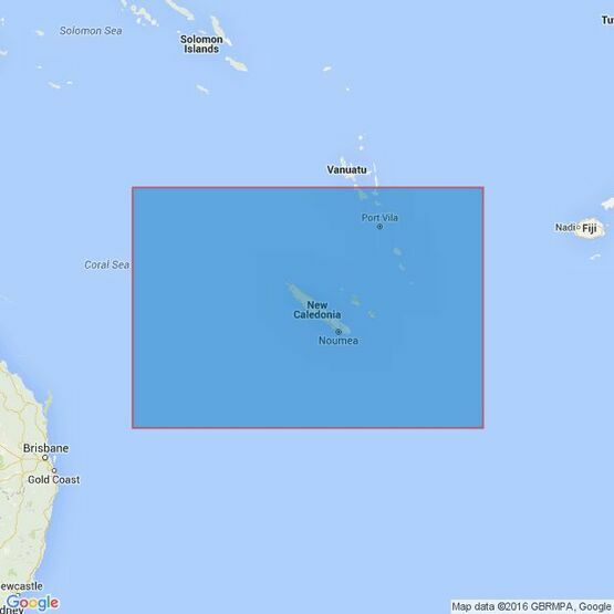 4636 Recifs Bampton Ile Hunter Admiralty Chart