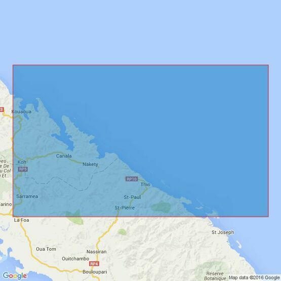 2928 Ile Toupeti to Cap Begat Admiralty Chart