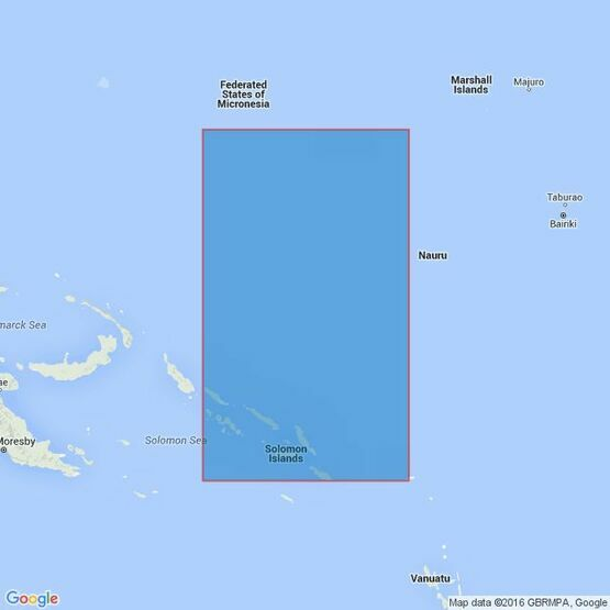 4623 Solomon Islands to Kosrae Island Admiralty Chart