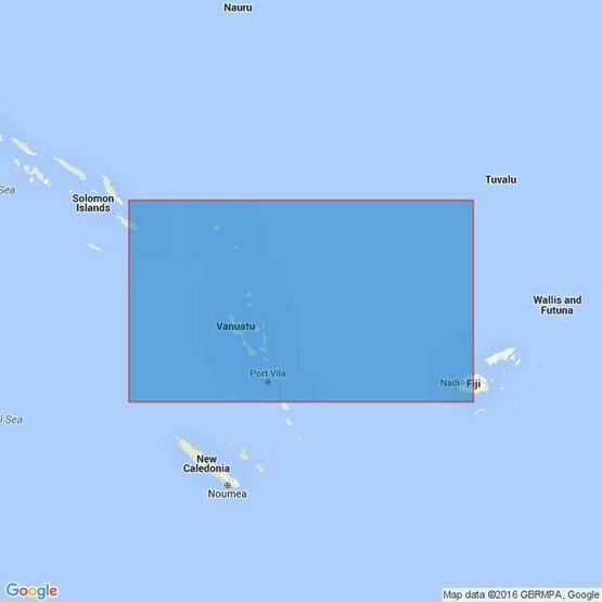4633 Solomon Islands to Fiji Admiralty Chart