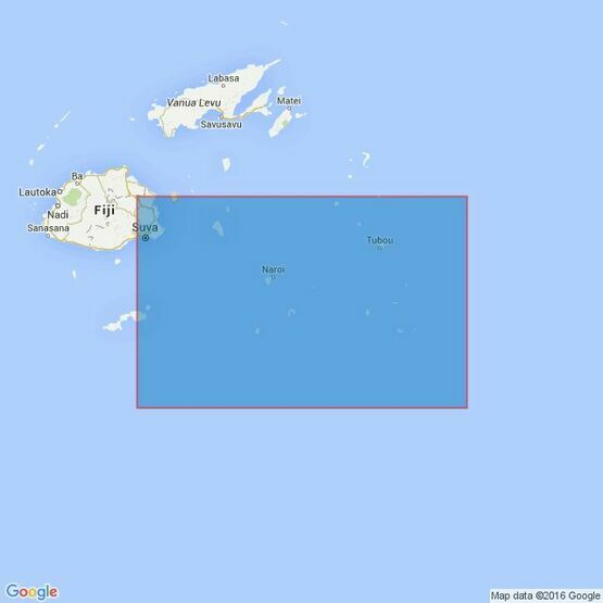 441 South Eastern Approaches to Fiji Islands Admiralty Chart